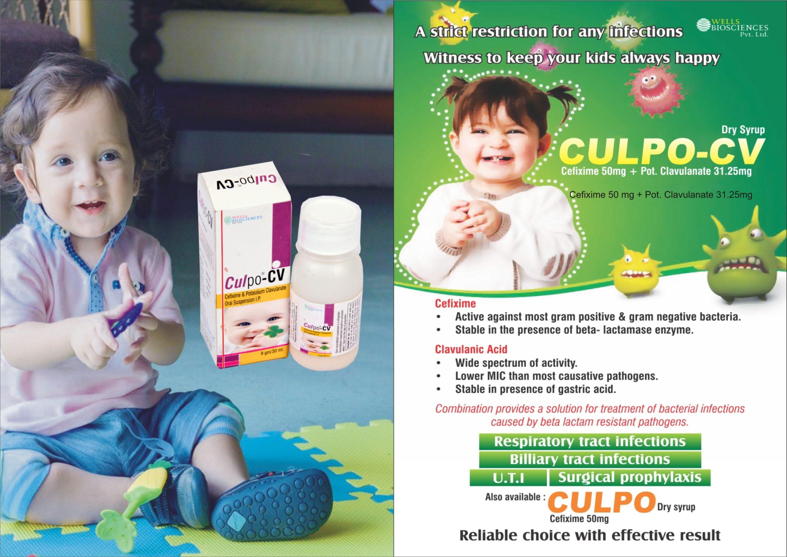 culpo-cv dry syrup